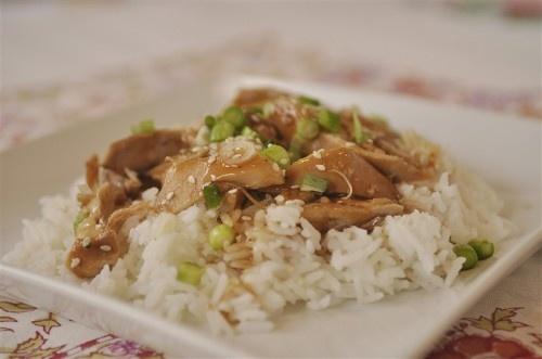 Teriyaki Chicken in the crock pot  @yourhomebasedmom.com  #crockpot,#chicken,#recipes