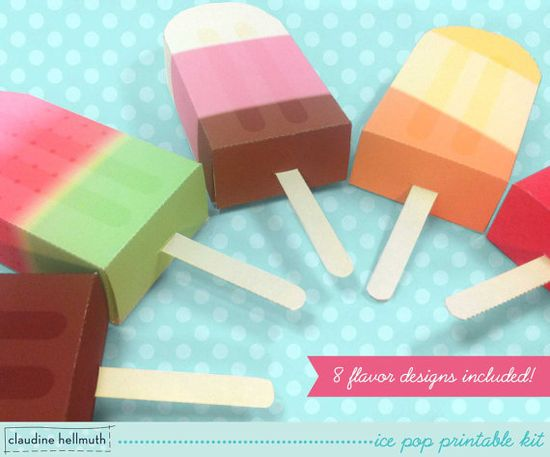Amazing ideas for Party Favor boxes.  So cute!!!