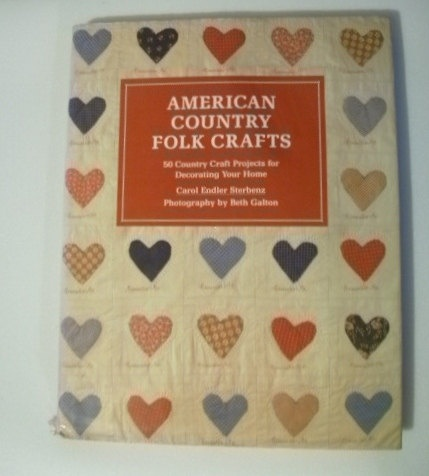 1987 American Country Folk Crafts 50 Country Craft by daddydan, $4.50