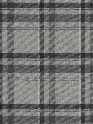 Ralph Lauren Fabric $132.75 per yard Heathland Plaid-Smoke #interiors #decor #plaidfabric