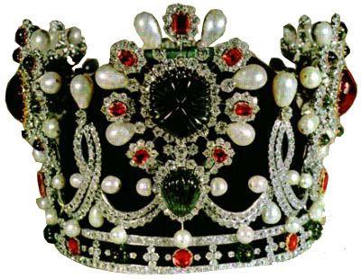 Iranian Crown Jewels: The Empress' Crown