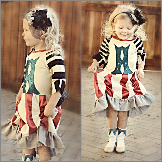 Circus Inspired Kid's Outfit