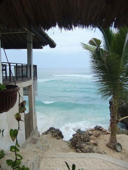 Beach house shore break