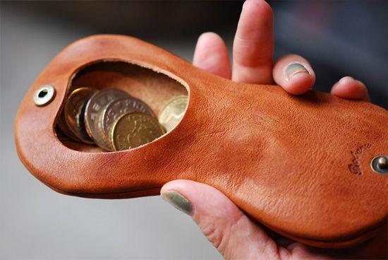 Roberu Ground Coin Case - Leather Factory Roberu Ground