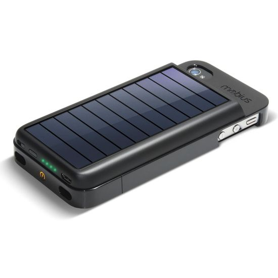 A Solar iPhone (4-4S) Battery that's super eco-friendly and can charge your phone just by being exposed to the sun