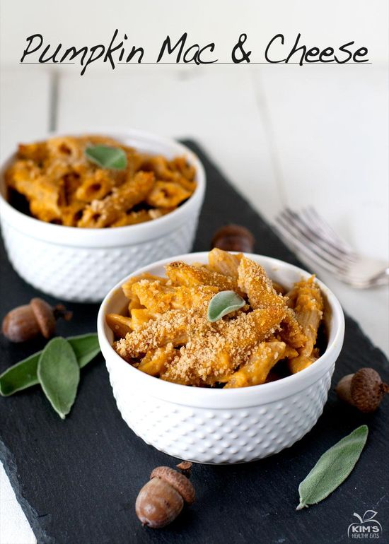 Can't wait to try this Pumpkin Mac and Cheese from @Kim's Healthy Eats