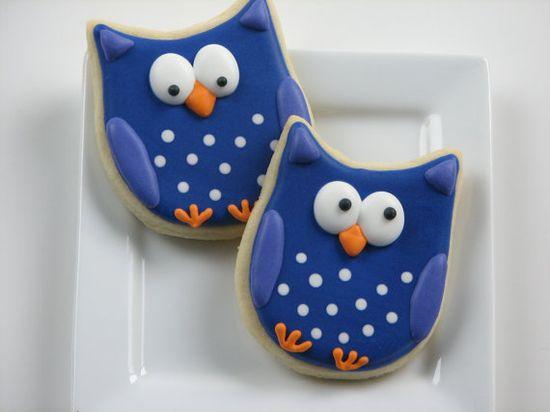 even more owl cookies:)