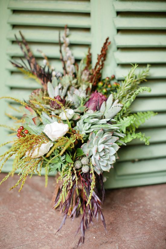 wild in the most gorgeous of ways bouquet  Photography By / marinkristine.com... Design By / poshfloristinc.com