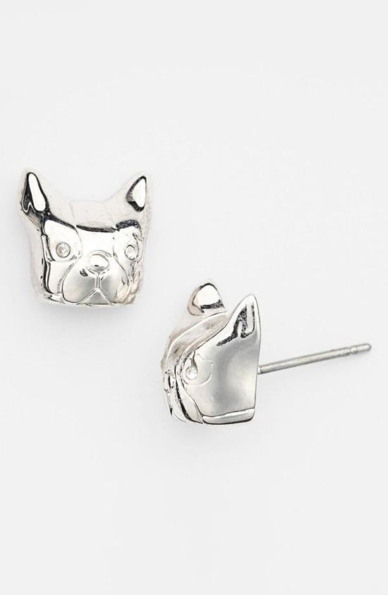 Cute! Dog Stud Earrings