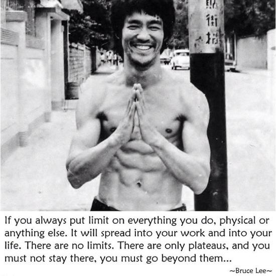Words of Bruce Lee