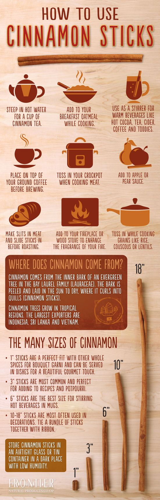The Health Benefits of #Cinnamon + #Infographic