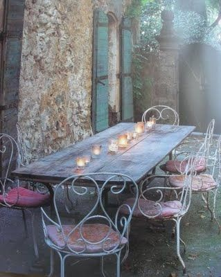 A romantic evening with friends...