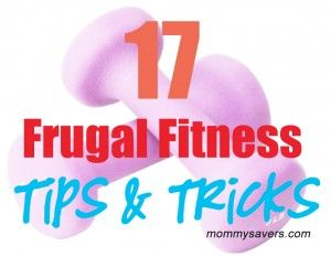 frugal fitness tips and tricks #fitness #workout