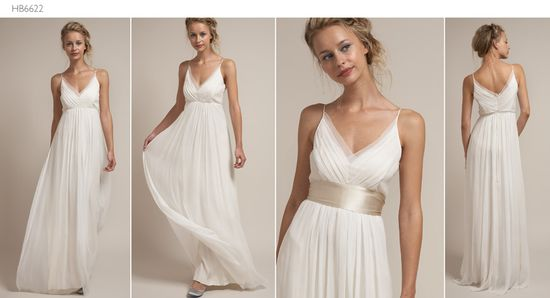 simple wedding dress. ?