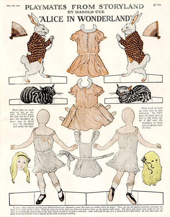 Alice in Wonderland ca. 1921