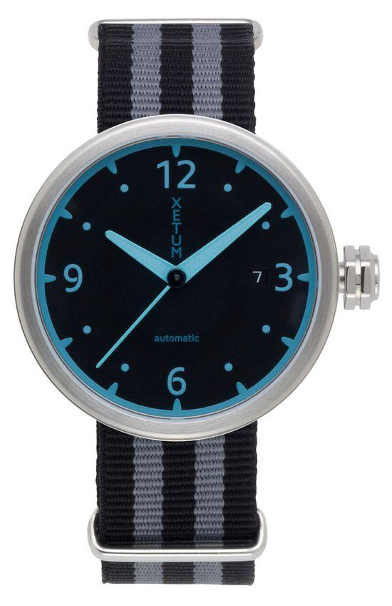 Xetum Kendrick men's watch -  #watches #fashion #design #modern #menswear #horology #Swiss watch #mens style #mens watch #Automatic Watch #wrist watches #modern design