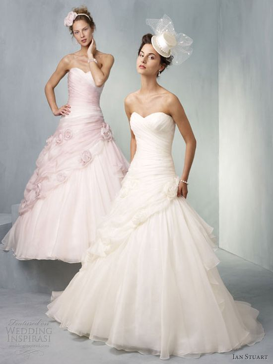 ian stuart bridal 2013 tivoli pink wedding dress ball gown