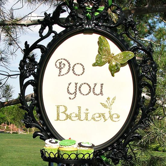 Do you believe... Fairy party