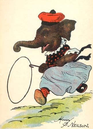 Children's Room - Vintage Elephant