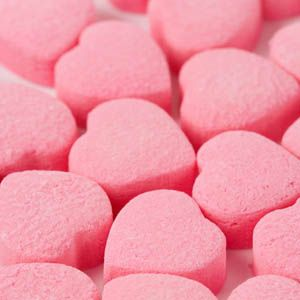 Pink Heart Candy