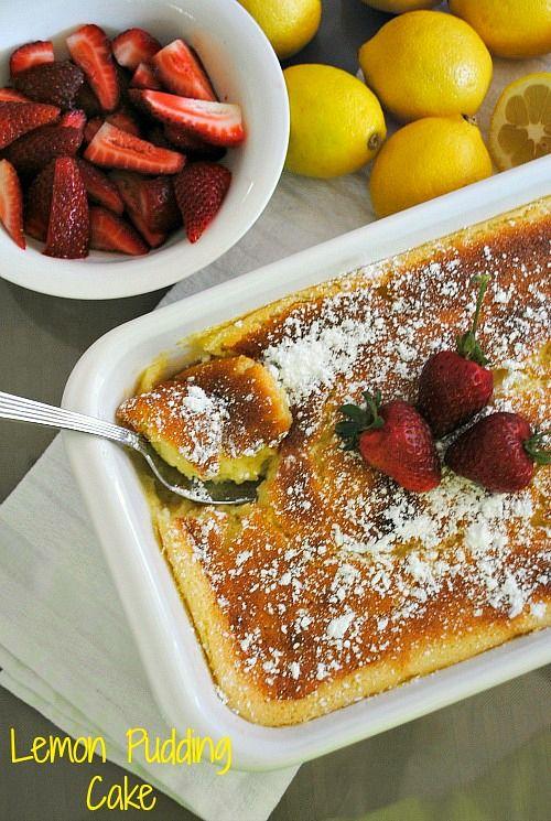 Lemon pudding cake - you-made-that.com