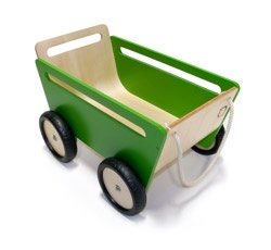 Push Pull Toy Cart by Scot Herbst: Made of natural Baltic birch wood.  $165.00