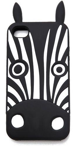 Cute Zebra iPhone Case!  #marcjacobs