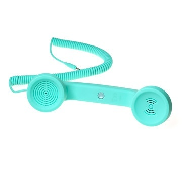 Turquoise Handset for iPhone.