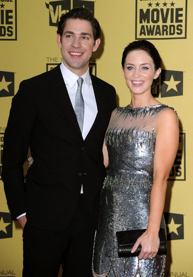 #JohnKrasinski and #EmilyBlunt were all smiles in 2010. #cute #celebrity #couple