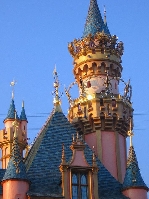 Disneyland Sleeping Beauty Castle 50th anniversary