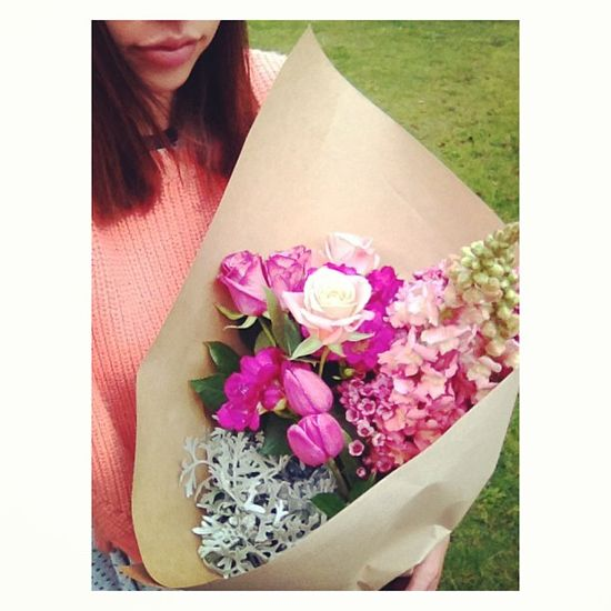 Kayla Cullen's flower arrangement #TalentedNetballer #KaylaCullen #SilverFerns