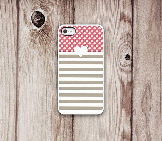 Heart Designer iPhone Case - iPhone 4 Case - Iphone 5 Case - Iphone 4s - Iphone Cover -  Heart iPhone Cases by Luv Your Case (275)