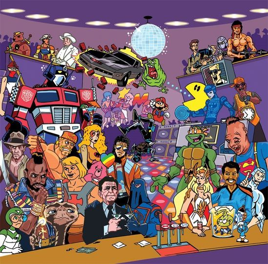 80 s cartoon characters