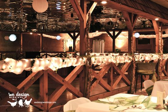 Final dance floor decoration