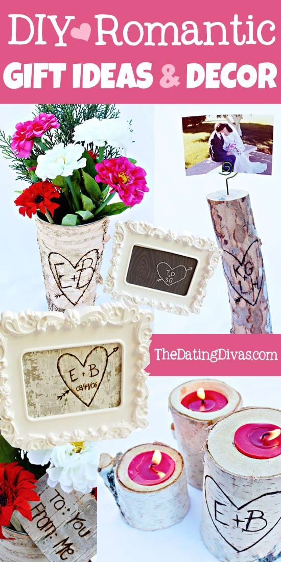 Five meaningful #DIY gift ideas for your spouse that can also double as romantic bedroom decor. www.TheDatingDiva... #DIY #valentines #anniversary