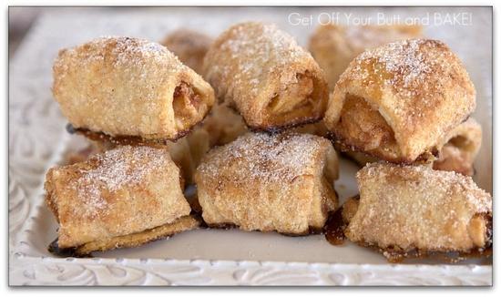 Apples in a Blanket (miniature apple pies)
