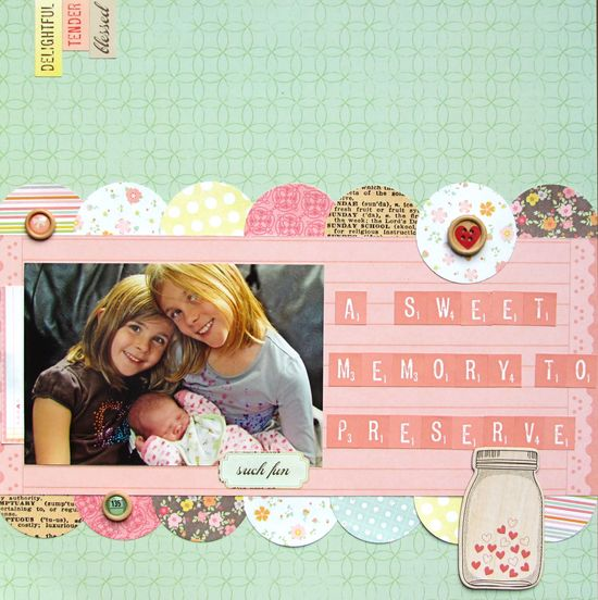 A Sweet Memory to Preserve - Scrapbook.com