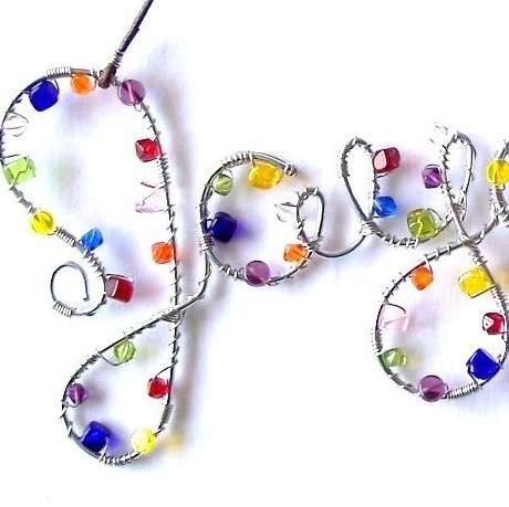 Tutorial- Wire names with beads!