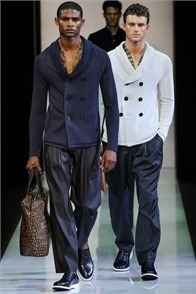 Giorgio Armani - Men Fashion Spring Summer 2013