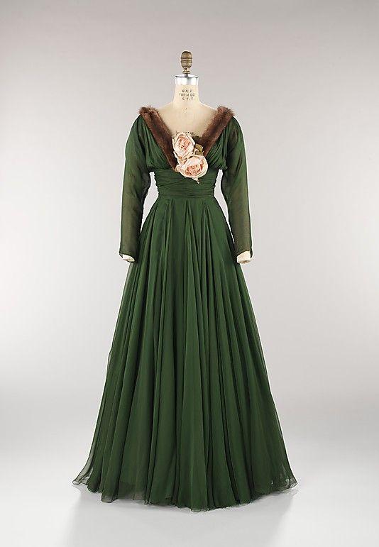 Evening Dress Norman Norell, 1957 The Metropolitan Museum of Art