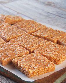 No-Bake Peanut Butter Rice Krispies Cookies - Martha Stewart Recipes