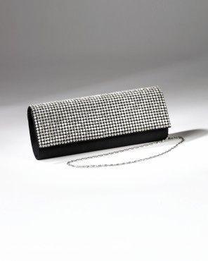 Handbags - Fully Rhinestone Flap Handbag from Camille La Vie and Group USA