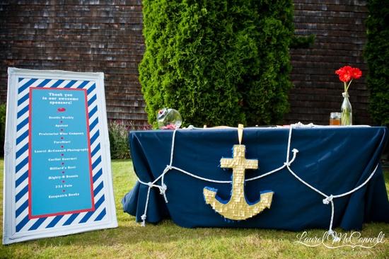 nautical party decor