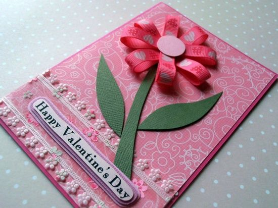 Flower of Love Handmade Valentine