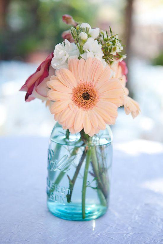 Lovely arrangements of flowers!