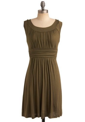 olive this dress.