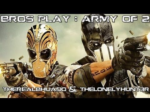 So me and my friend Call Me Bhuado decided to play Army Of Two : The Devil's Cartel and you get to see the funny outcome! This is our first attempt in a dual commentary and we used xbox live party chat,that's why the audio might not be great.For future videos we found a better audio setup.You get to see us team up,kick ass and crack jokes along
