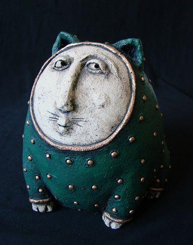 """Greencat"" by Roman Khalilov"