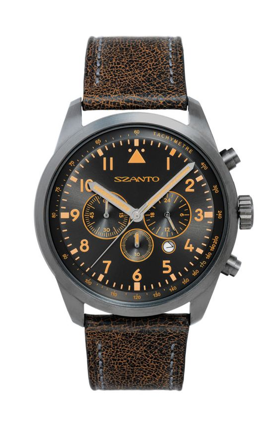 Luminox Founder Launches Szanto, New Vintage-Inspired Watch Collection