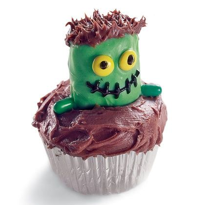Sweet Monster Cupcake